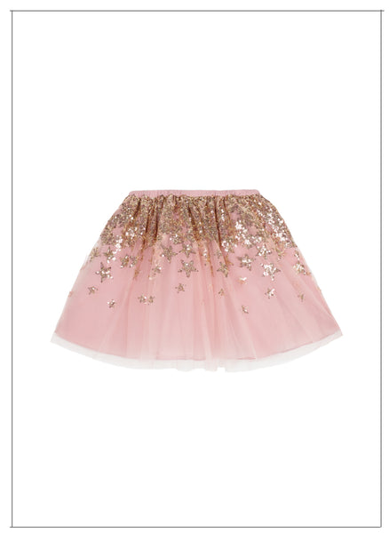 Wild and Gorgeous Solstice Skirt in Dusty Pink