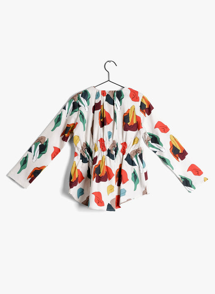 Wolf and Rita Angela Blouse in Samba Print - FINAL SALE