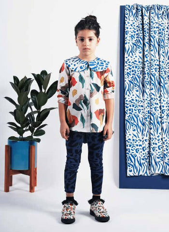 Wolf and Rita Angela Blouse in Samba Print