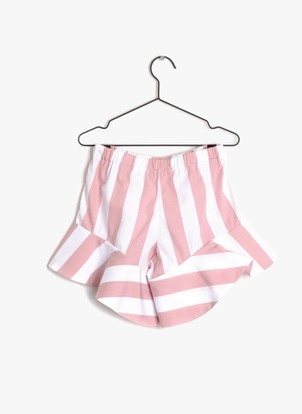 Wolf and Rita Aurelia Shorts in Pink Stripes - FINAL SALE