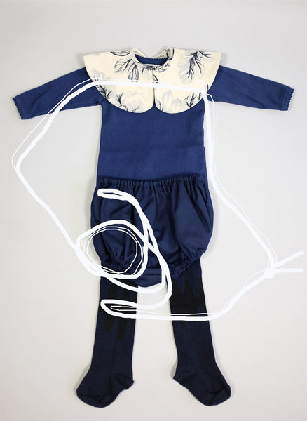 Wolf and Rita Baby Francisca Culotte in Navy Blue - FINAL SALE