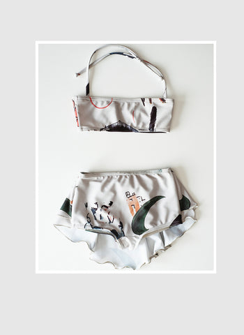 Wolf and Rita Benedita Bikini in L'Art