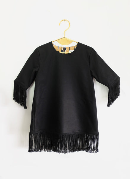 Wolf and Rita Blouse Tania in Black - FINAL SALE