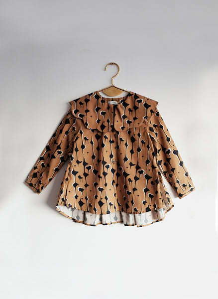 Wolf and Rita Blouse Eva in Drops - FINAL SALE
