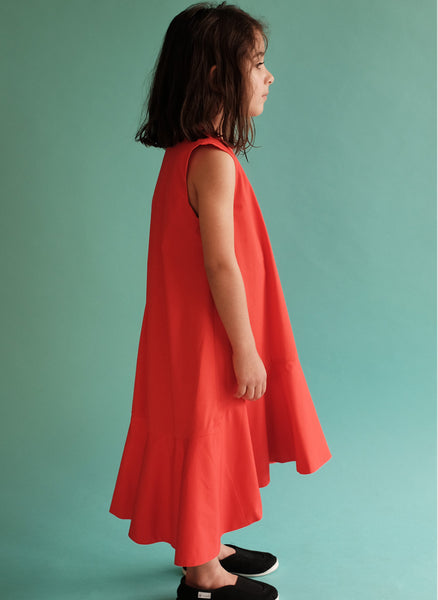 Wolf and Rita Dress Laura in Red - FINAL SALE