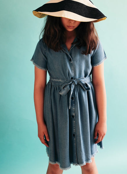 Wolf and Rita Dress Bruna in Tencel - FINAL SALE