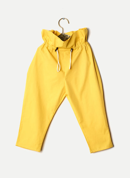 Wolf and Rita Henrique Trouser in Yellow - FINAL SALE