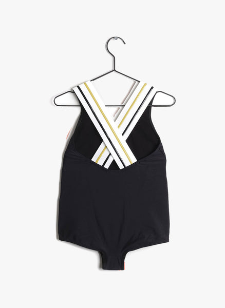 Wolf and Rita Liliana Swimsuit in Black - FINAL SALE