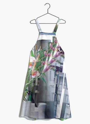 Wolf and Rita Mafalda Dress in Stillness Print - FINAL SALE