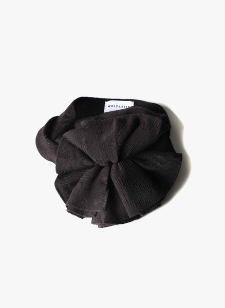 Wolf and Rita Margarida Scarf in Black - FINAL SALE