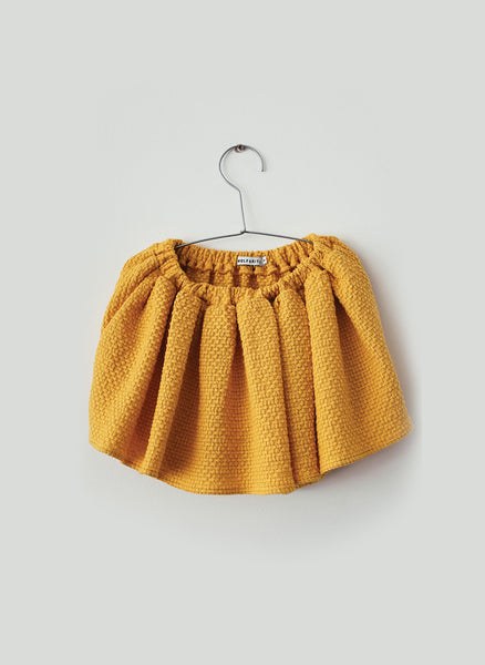 Wolf and Rita Skirt-Culotte Leonor in Yellow - FINAL SALE