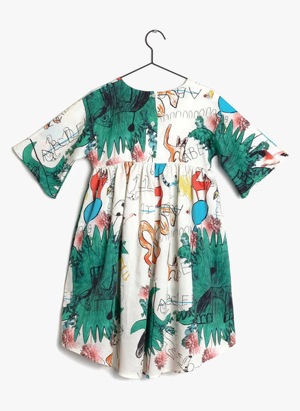 Wolf and Rita Silvia Dress in Print - FINAL SALE