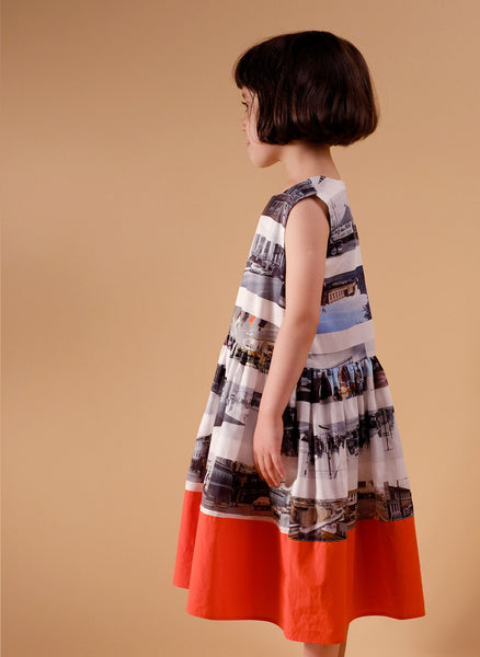 Wolf and Rita Sofia Dress in On The Road Print - FINAL SALE
