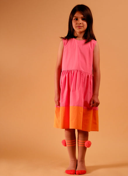 Wolf and Rita Sofia Dress in Pink - FINAL SALE