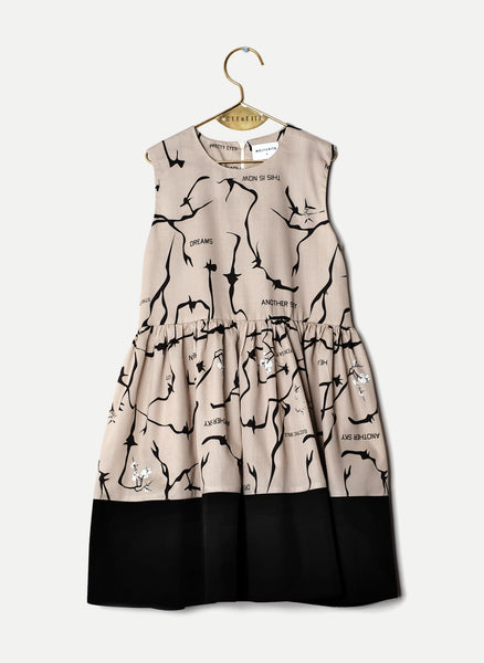Wolf and Rita Sofia Dress in This Is Now Print - FINAL SALE