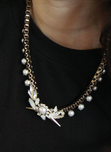 Wanderlust Birds of Paradise Gold Necklace - W-N339G