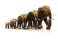 Wood Elephants