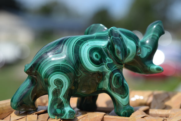 Malachite Elephant.