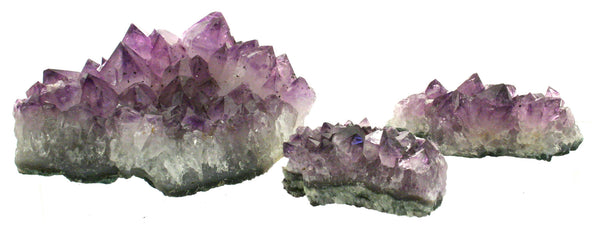 Amethyst Crystal Druze Plate Naturally Grown From Brazil 360-450g
