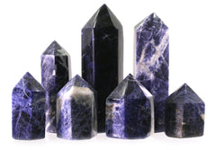 50mm Sodalite Generator Single Point Cut and Polished From Brazil