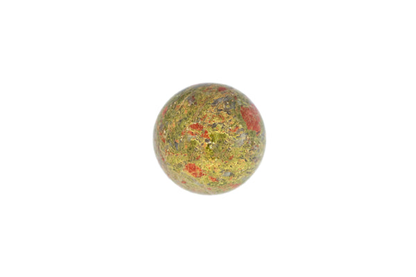 Unakite Crystal Sphere Cut and Polished Mineral - 60mm Diameter