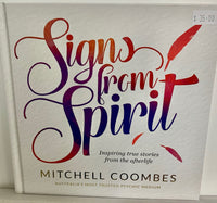 Signs from Spirit Signed Book by Mitchell Coombes