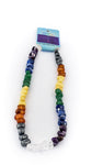 Chakra Elastic Jewellery Necklace With Seven Types Of Crystal Stones
