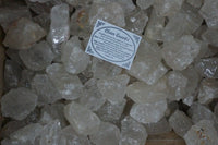 6 x Clear Quartz Crystal Rough Chunk Natural Mineral - 4 to 8cm