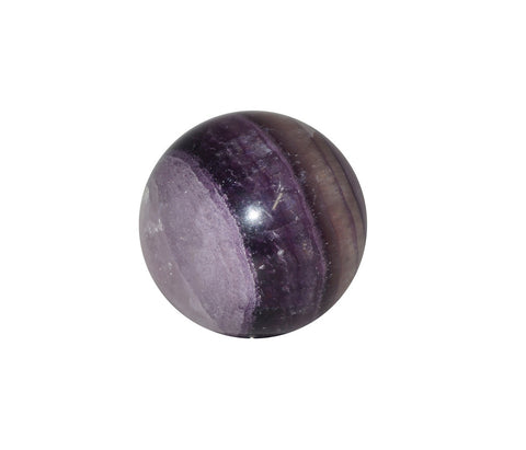 Rainbow Fluorite Crystal Sphere Cut and Polished Mineral - 40mm Diameter