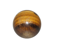 Tiger Eye Crystal Sphere Cut and Polished Mineral - 40mm Diameter