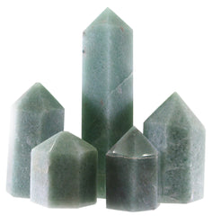 120mm Green Quartz Generator Single Point Cut and Polished From Brazil