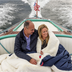 Luxury Boating Blankets by Pretty Rugged