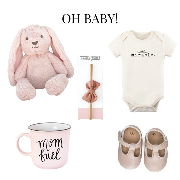 Baby Girl Gift Boxes - New Baby Gifts