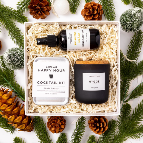 COVID Stay Home - Healthy Holiday Gift Box