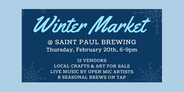 Saint Paul Winter Market - Saint Paul Brewing