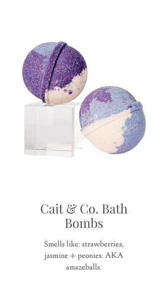 Cait & Co. Bath Bombs and Accessories