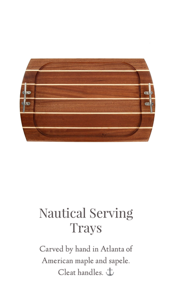 Nautical Serving Tray Cutting Boards