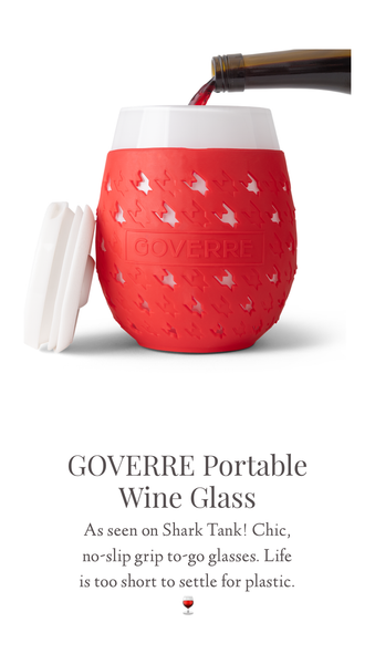 GOVERRE Wine Glasses To-Go Cups