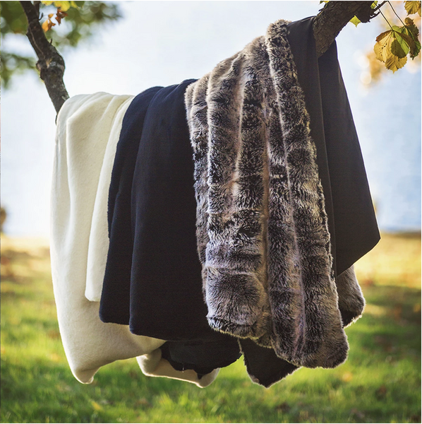 Pretty Rugged Faux Fur Boating Blankets - Giften Market