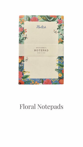 Floral Notepad by Rifle Paper Co.