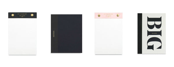 Wit and Delight - Notebooks and Notepads - Giften Market