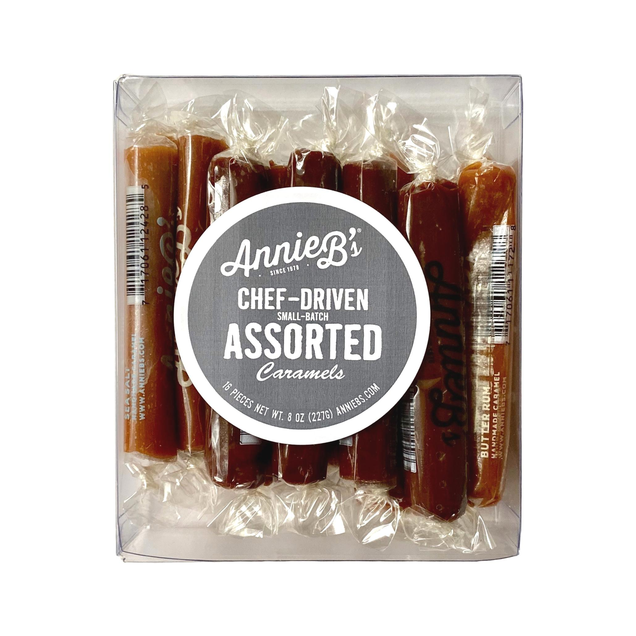 Annie B's Caramels | 16-Piece Chef's Assortment Box - Giften Market