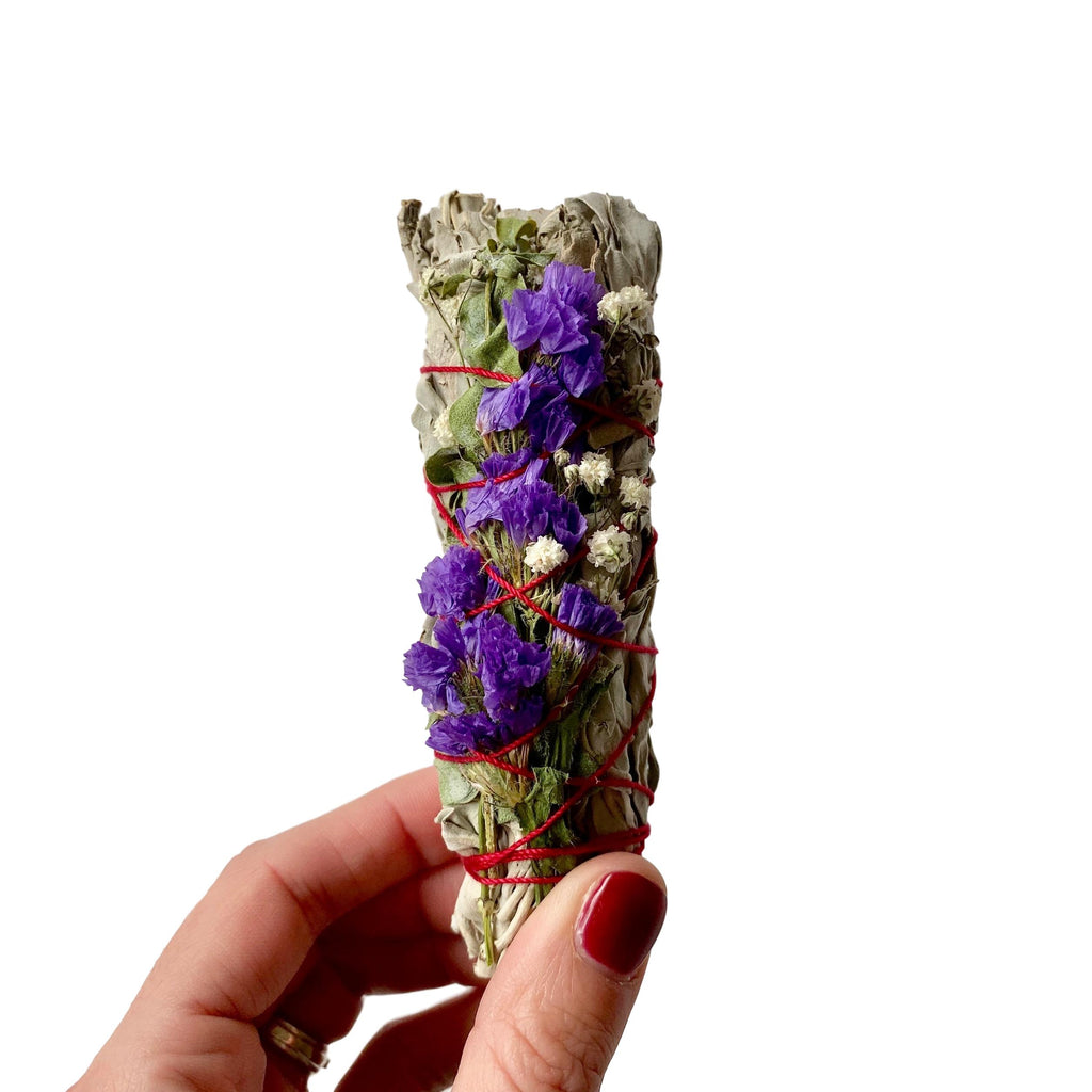 Wildflower Mini Smudge Stick - Giften Market