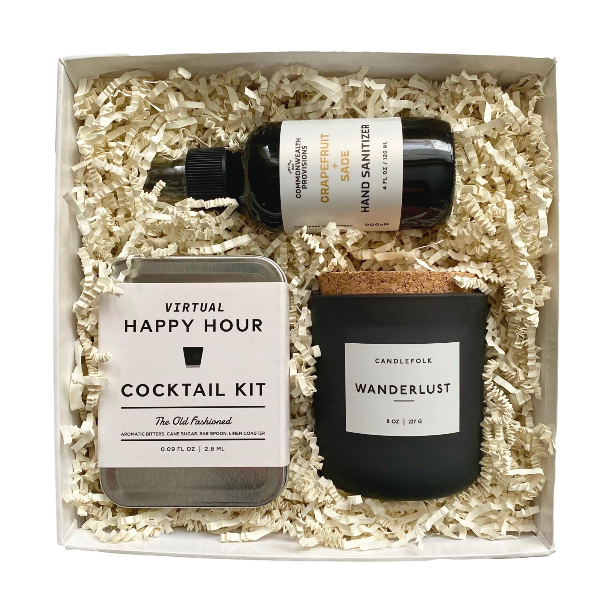 Virtual Happy Hour Cocktail Kit Gift Box - Giften Market