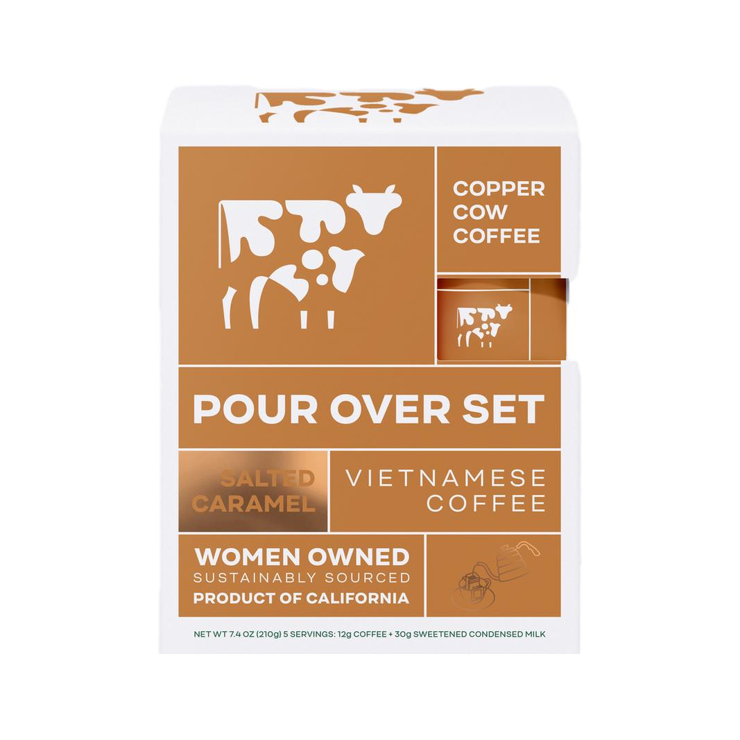 Copper Cow Salted Caramel Latte Kit - Giften Market