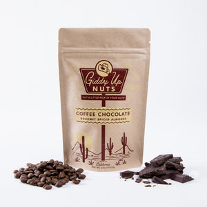 Coffee Chocolate Gourmet Spiced Almonds - Giften Market
