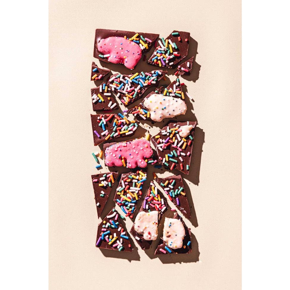 Animal Cookies Dark Chocolate Bar - Giften Market