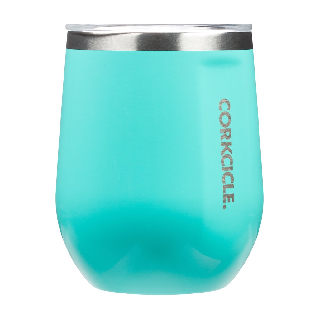 Stemless Wine Cup - Turquoise - Giften Market