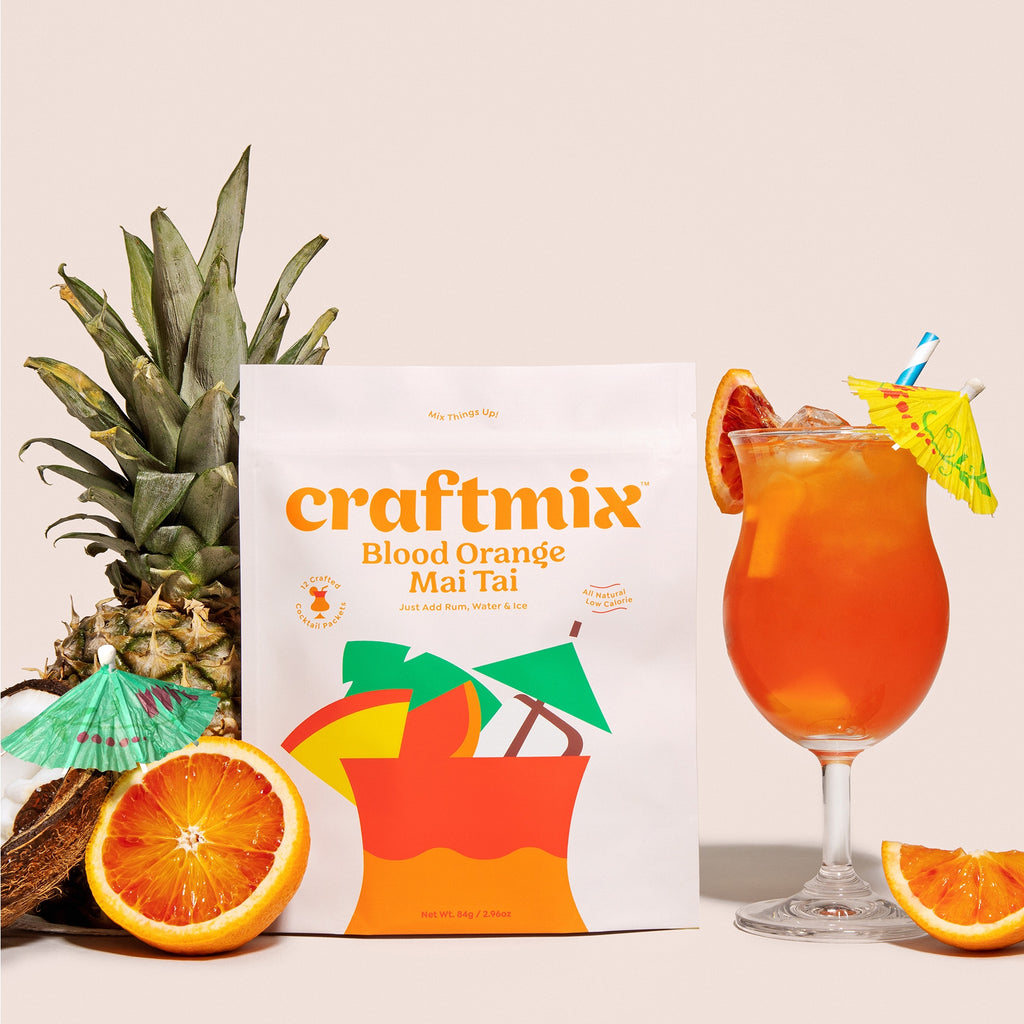 Craftmix Blood Orange Mai Tai Cocktail Mixer - Giften Market