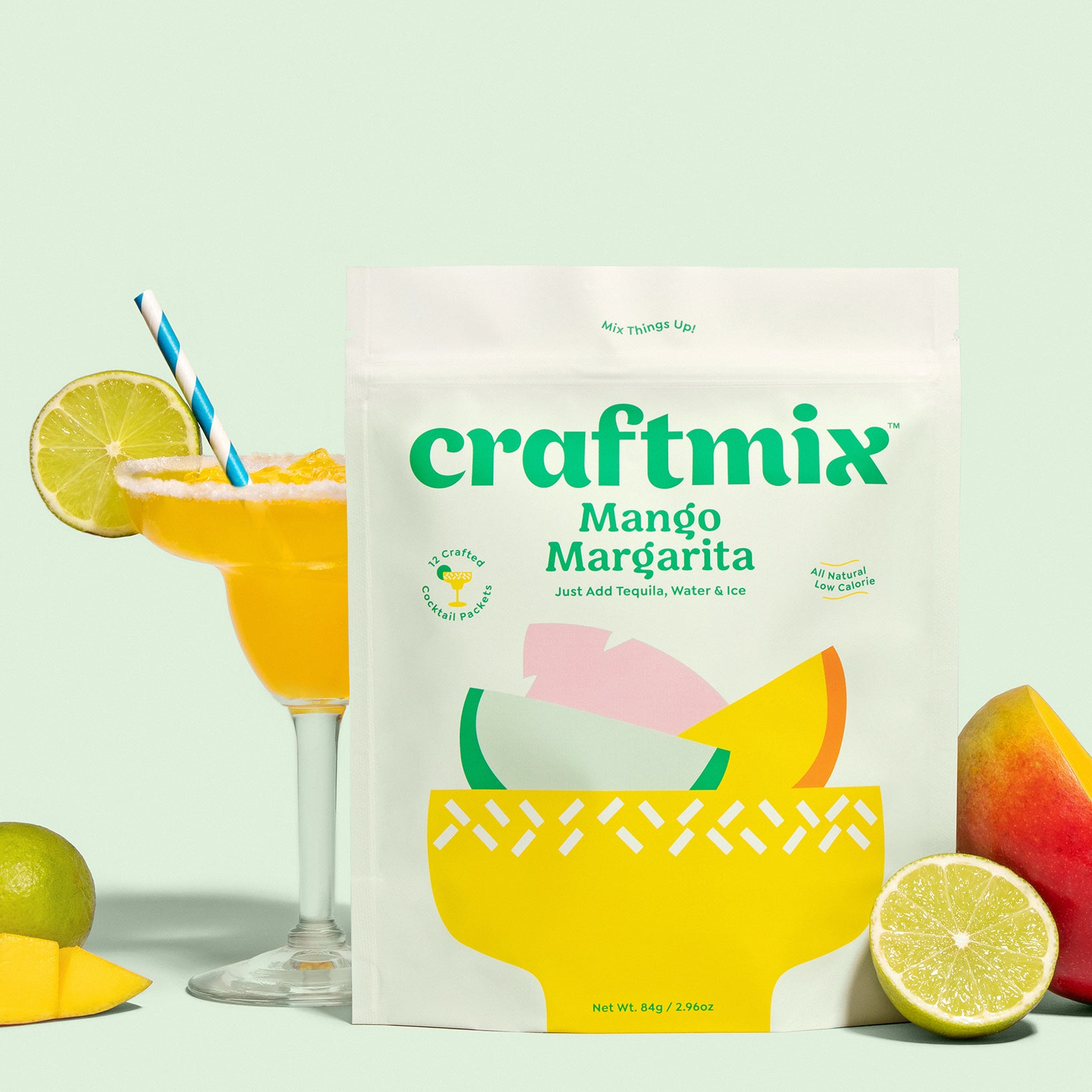 Craftmix Mango Margarita Cocktail Mix - Giften Market